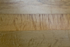 mineral stained wide board maple flooring